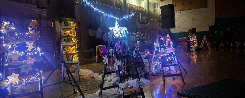 Božično-novoletna prireditev Osnovne šole Stranje