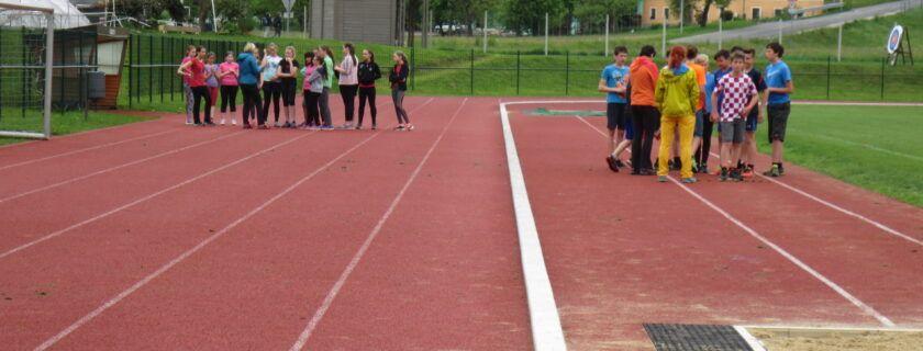 Športni dan za učence 8. in 9. razredov – atletika